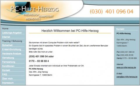 PC-HILFE-HERZOG Berlin in Berlin