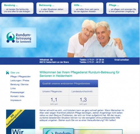 Rundum-Betreuung für Senioren in Heidenheim: Hilfe im Alltag in Heidenheim an der Brenz