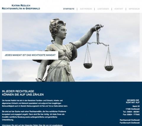Katrin Redlich, Rechtsanwältin in Greifswald in Greifswald