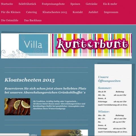 Restaurant, Café & Ausflugslokal Villa Kunterbunt an der Ostmühle  in Bad Bentheim / OT Gildehaus in Bad Bentheim