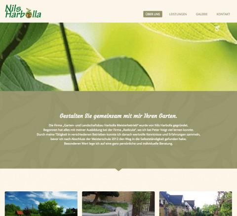 Neugestaltung des Gartens in Osnabrück: Galabau Nils Harbolla in Osnabrück