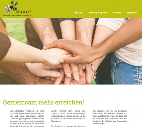MiCasa® - Gesundheitsmanagement und Beratung in Frankfurt in Schwalbach am Taunus