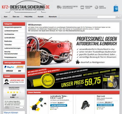 Markus Ruge GmbH / bear-lock.de, Gangschaltungs- und Lenksäulensperren in Berlin
