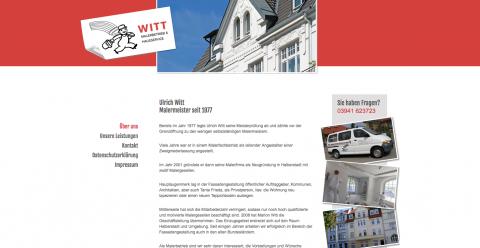 Witt Malerbetrieb & Hausservice in Halberstadt in Halberstadt