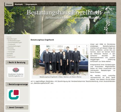 Friedliche Erdbestattung mit dem Bestattungshaus Engelhardt in Waren (Müritz)