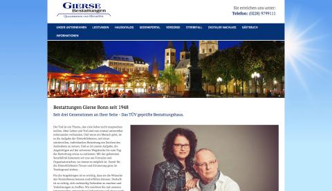 Entlastung in schweren Stunden - Bestattungen Gierse in Bonn in Bonn