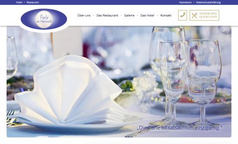 """Hotel mit Restaurant in Hagenow: """"Perle am Mühlenbach"""" in Hagenow"""
