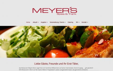 Das perfekte Partybuffet von Restaurant Meyer's in Bonn in Bonn