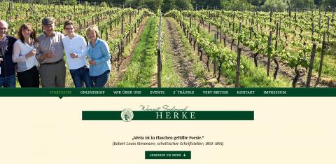 Leckere Weine genießen im Weingut Ferdinand Herke & Sohn in Oestrich-Winkel in Oestrich