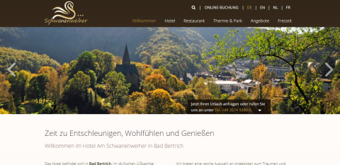 Erholsames Wellness-Wochenende in der Eifel in Bad Bertrich