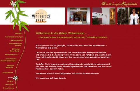 Kosmetik- und Wellness in München: die kleine Wellness-Insel in München