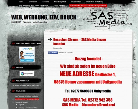 SAS Media in Hemer in Hemer