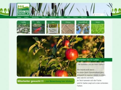 Stefan Wolf Landschaftsbau & Gartengestaltung in Schortens in Schortens