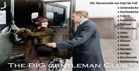 XXL-Shopping: Mode für starke Männer in Hattert-Hütte