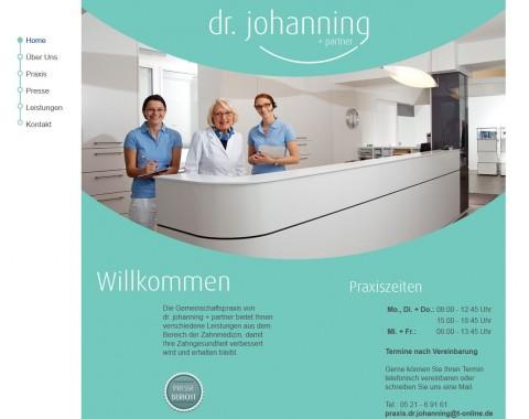 Zahnarztpraxis Dr. Klaus Johanning und Partner in Bielefeld in Bielefeld