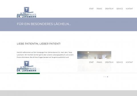 Ästhetischer Zahnersatz - Zahnarztpraxis Dr. Lansmann in Rheine in Rheine