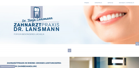 Zahnarztpraxis Dr. med. dent. Tanja Lansmann: Ihre Zahnärztin in Rheine in Rheine