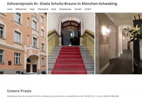 Zahnärztin in München: Dr. Gisela Schultz-Brauns - Zahnarztpraxis in München