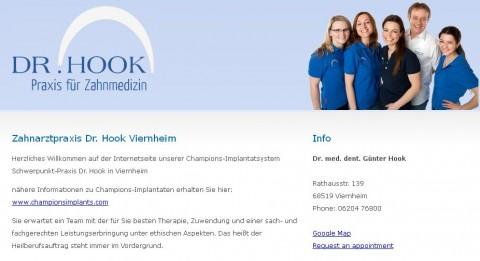Zahnarztpraxis Dr. med. dent. Günter Hook in Viernheim in Viernheim