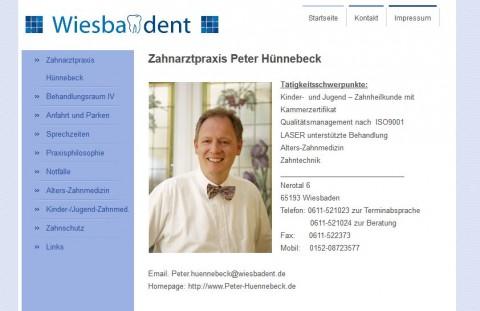 Zahnarzt Peter Hünnebeck in Wiesbaden in Wiesbaden