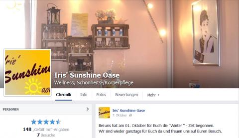 Sonnestudio Iris' Sunshine Oase in Herxheim in Herxheim