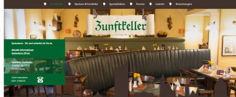 Gut bürgerliche Küche im Restaurant Zunftkeller in Leipzig  in Leipzig