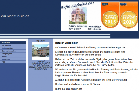 Immobilienmaklerin in Nürnberg: Gerdi Zwingel Immobilien in Nürnberg