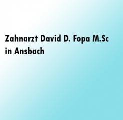 Strahlende Zähne dank Zahnarzt David D. Fopa M.Sc aus Ansbach | Ansbach