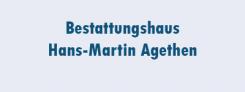 Pietätvolle Bestattungen in Bochum: Bestattungshaus Agethen | Bochum