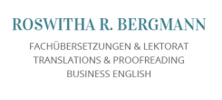 Fachübersetzungen in der Region München: Roswitha R. Bergmann in Ottobrunn | Ottobrunn
