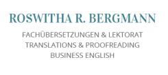 Roswitha Bergmann: Übersetzungen im Raum Ottobrunn | Ottobrunn