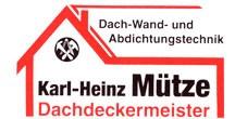 Dachdeckerei in Essen: Dachdeckermeister Karl-Heinz Mütze  | Essen-Frintrop