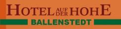 Hotel auf der Hohe in Ballenstedt | Ballenstedt