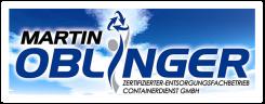 Oblinger Zertifizierter Entsorgungsfachbetrieb Containerdienst GmbH | Pförring