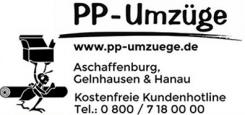 Ihr starker Partner für Umzüge in Hanau: PP – Umzüge | Hanau