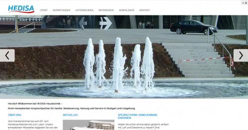 Firmenprofil von: Ihr Partner für sanitären Anlagenbau - Hedisa Haustechnik in Stuttgart