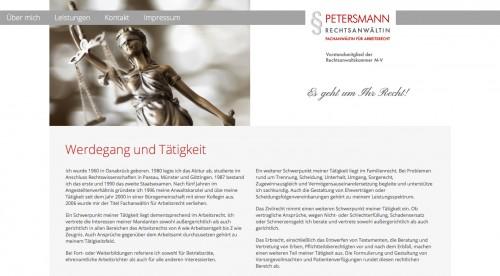 Firmenprofil von: Christa Petersmann, Rechtsanwältin  in Rostock