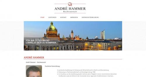Firmenprofil von: André Hammer, Rechtsanwalt in Leipzig