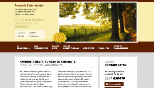 Firmenprofil von: Ambrosia Bestattungen in Chemnitz: