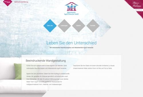 Firmenprofil von: Malerbetrieb Ingolf Heinecke GmbH in Neuenhagen