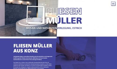 Firmenprofil von: Fliesenleger in Konz: Fliesen-, Mosaik- und Natursteinverlegung Ralf Müller