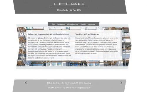 Firmenprofil von: DEBAG Bau GmbH & Co. KG aus Magdeburg