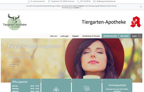 Firmenprofil von: Tiergarten-Apotheke in Hannover: