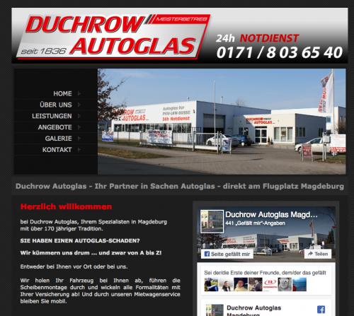 Firmenprofil von: Autoglaser in Magdeburg:  Duchrow Autoglas UG