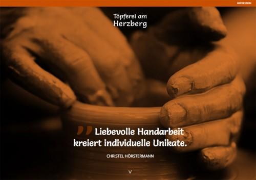 Firmenprofil von: Töpferei am Herzberg