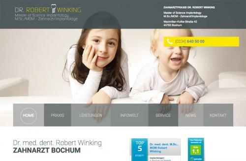 Firmenprofil von: Zahnarztpraxis Dr. Robert Winking in Bochum