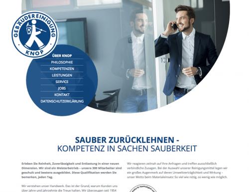 Firmenprofil von: Unterhaltsreinigung in Göttingen: Gebäudereinigung Knop