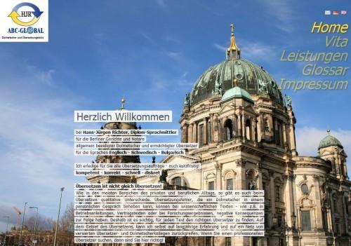 Firmenprofil von: ABC-Global Dolmetscher- und Übersetzungsbüro in Berlin