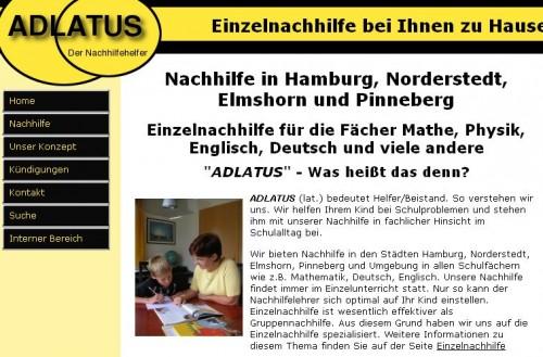 Firmenprofil von: Adlatus Nachhilfeinstitut in Hamburg und weiteren Städten