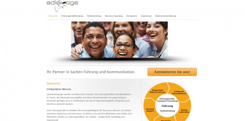 Firmenprofil von: Ihr Coaching für Führungskräfte: Adlerauge Kaufmann